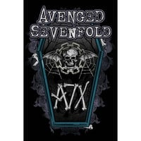 AVENGED SEVENFOLD CHAIN COFFIN POSTER