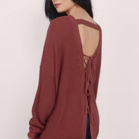 Slip Me Out Sweater $44
