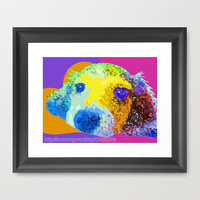 """Pie in the Sky Series: """"Candy Coated"""" - Dachshund Print Photography (Dog) (10"""" x 8"""") - White Wall Art Home Decor"""
