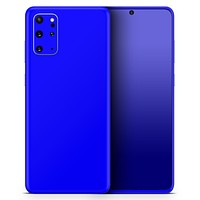 Solid Royal Blue - Skin-Kit for the Samsung Galaxy S-Series S20, S20 Plus, S20 Ultra , S10 & others (All Galaxy Devices Available)