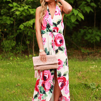 Flaunt it If Ya Got It Floral Maxi