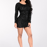 Know What I Want Dress - Black