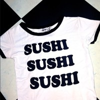SWEET LORD O'MIGHTY! OG SUSHI RINGER TEE