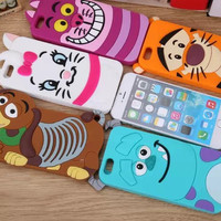 New arrival Luxury cute Silicon Mobile Phone case cover for apple iphone 6 iPhone 6g i6 iphone 6 air 4.7 free shipping 1piece