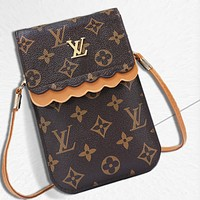 LV fashion hot selling lady printing color small bag mobile phone bag #4