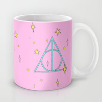 Harry potter // pastel deathly hallows Mug by Milly Scarlett