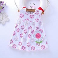 2017 Time-limited Baby Clothes 0-2 Girl Cotton Clothing Style Sleeveless Girls Just Signed Bar Code With Barcelona Children Cl