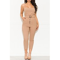 Once In A While Jumpsuit Khaki