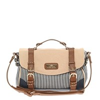 River Island Stripe Glam Satchel