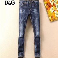 Boys & Men Dolce&Gabbana Fashion Casual Pants Trousers Jeans