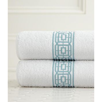 Lennox Embroidered Bath Linens by Legacy Home