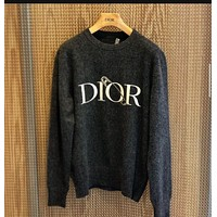 DIOR Round Neck Pullover Sweater