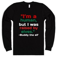 Elf-Unisex Black T-Shirt