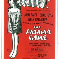 The Pajama Game 11x17 Broadway Show Poster (1954)