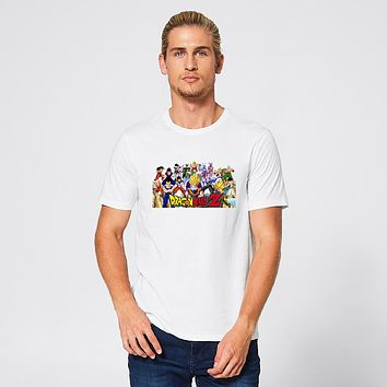 Dragon Ball Z Cast of Characters T-shirt