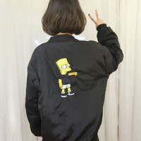 Bart Simpson Bomber Jacket