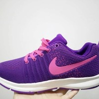 """Nike"" Women Sport Casual Flyknit Sneakers Fashion Running Shoes"