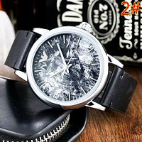 Armani New fashion dial texture couple watch