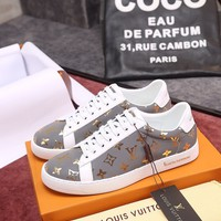 LV Louis Vuitton Fashion Men Casual Running Sport Shoes Sneakers Slipper Sandals High Heels Shoes