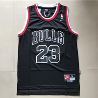 Michael Jordan Nike Chicago Bulls 23 Home Jersey Youth Black