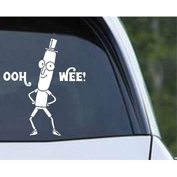 Rick and Morty - Mr Poopy Butthole Die Cut Vinyl Decal Sticker