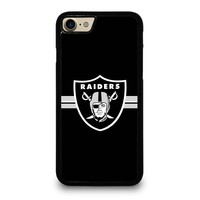MADE AN OAKLAND RAIDERS iPhone 4/4S 5/5S/SE 5C 6/6S 7 8 Plus X Case