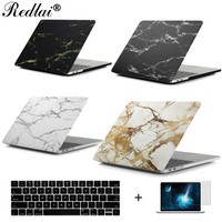 """Marble Texture Plastic Hard Case For MacBook Pro 13 15 Case 2016 model A1706 A1708 A1707 Laptop Case Air Pro Retina 13 15"""" Shell"""