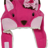 Strawberry Sundae Fox Girls Hat