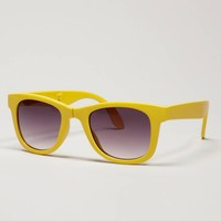 AE Yellow Foldable Sunglasses | American Eagle Outfitters