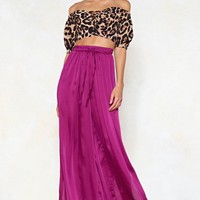 Split It Out Wide-Leg Pants