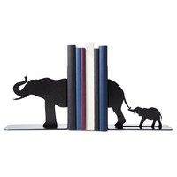 Elephant Family Bookends