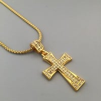 New Arrival Gift Jewelry Stylish Shiny Hot Sale Fashion Hip-hop Club Necklace [6542769603]