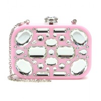 miu miu - crystal embellished clutch