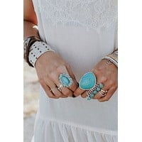 Sacred Statement Stone Ring (More Colors)
