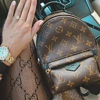 Louis Vuitton LV Classic Backpack Travel Bag Fashion Lady Handbag Shoulder Bag Backpack