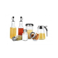 KoleImports 7-Piece Glass Dispenser Set