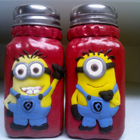 Minion salt and pepper shakers