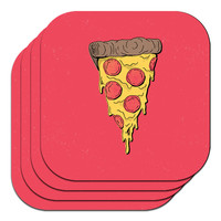 Pizza Party Coasters