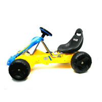 EZ Riders? Go-Kart Ride-On Car Battery Operated - Yellow