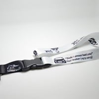 Paul Walker Tribute Fast & Furious Lanyard JDM