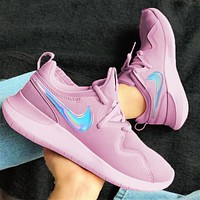 Nike London Roshe fourth generation sneakers purple + laser hook