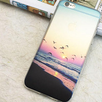 Beach Holiday Sunset Case for iPhone