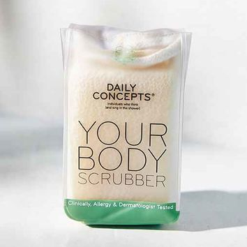 Daily Concepts Body Scrubber- Assorted One