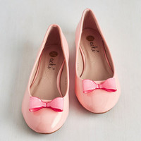 Pastel Zest of Luck Flat in Rose by ModCloth