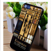Kingsman Secret Service iPhone for 4 5 5c 6 Plus Case, Samsung Galaxy for S3 S4 S5 Note 3 4 Case, iPod for 4 5 Case, HtC One for M7 M8 and Nexus Case