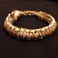 Pipe Bracelet - Earth Tones