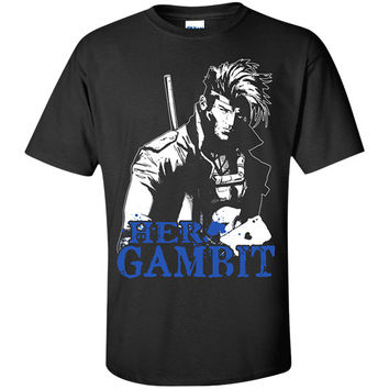Couple Collection - Her Gambit - Men Short Sleeve T Shirt - SSID2016