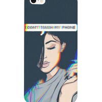 """""""Don't touch my phone"""" Kylie Jenner phone case"""