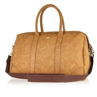 Vegetable Tanned Holdall Bag