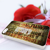 A Day To Remember Song - For iPhone 4/4s, iPhone 5/5S/5C, Samsung S3 i9300, Samsung S4 i9500 Hard Case